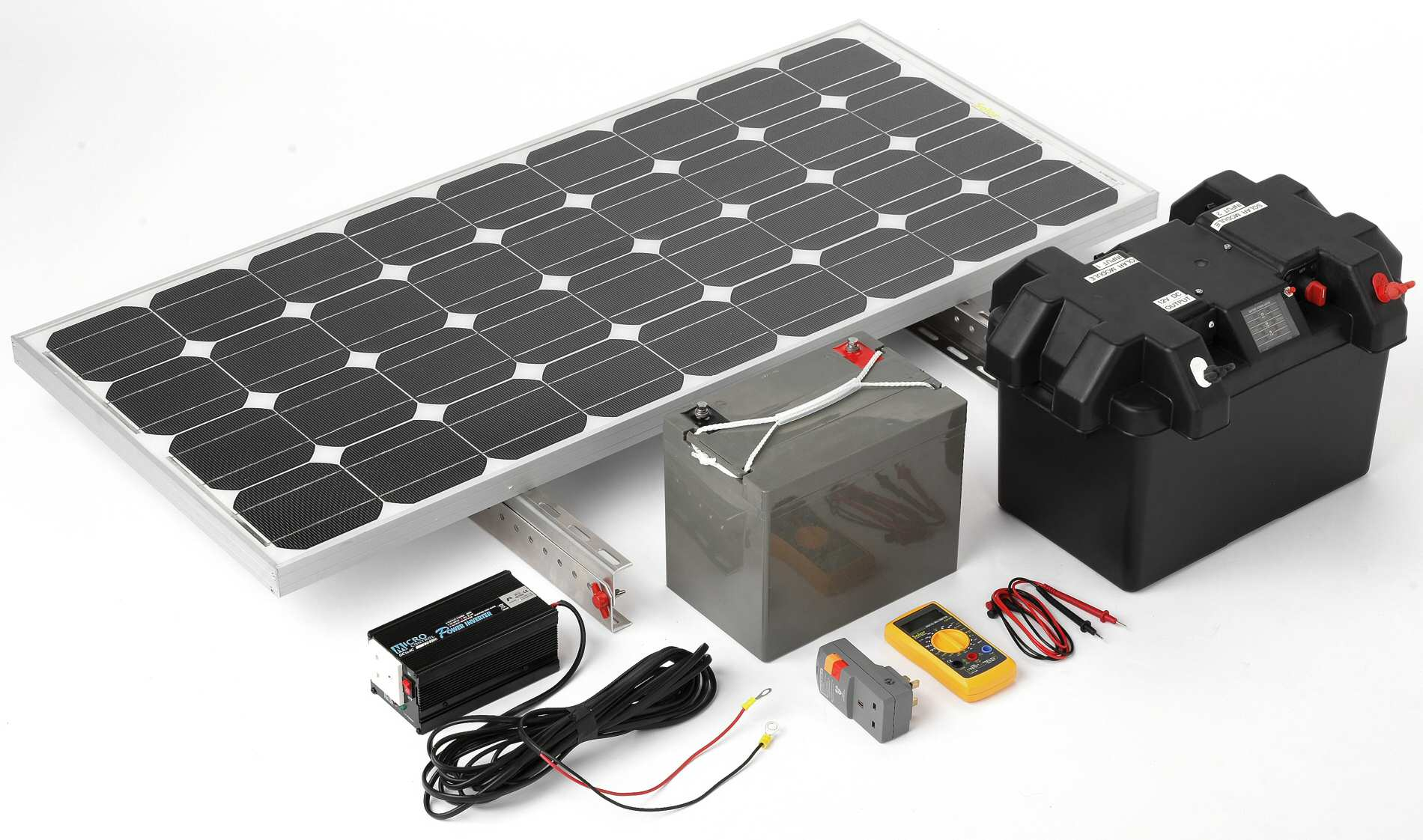 how to prepare to make solor panels at home
